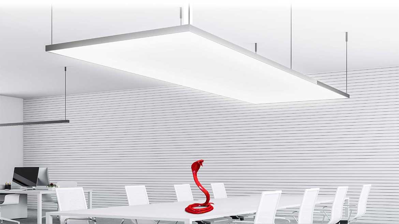 NEW/MIRODAL Full LED - Deckenelemente mit eingebauter vollflächigen hinterleuchtung