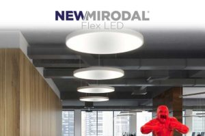 NEW/MIRODAL Flex LED - Paneles de techo Flex LED a medida