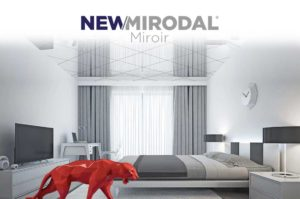 NEW/MIRODAL Miroir - Dalle effet miroir sur-mesure pour vos plafonds