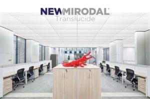 NEW/MIRODAL Translucide - Dalles translucides sur-mesure pour vos plafonds