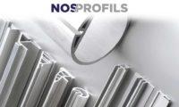 NOS/PROFILS - Disponibles en P.V.C ou en Aluminium extrudé
