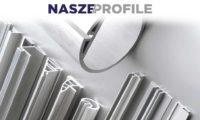 NASZE/PROFILE - Dostępne w kolorze P.V.C lub wytłaczanego aluminium