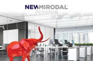 NEW/MIRODAL Acoustical - Custom Acoustical Ceiling Panels
