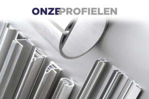 ONZE/PROFIELEN - Beschikbaar in P.V.C of geëxtrudeerd aluminium
